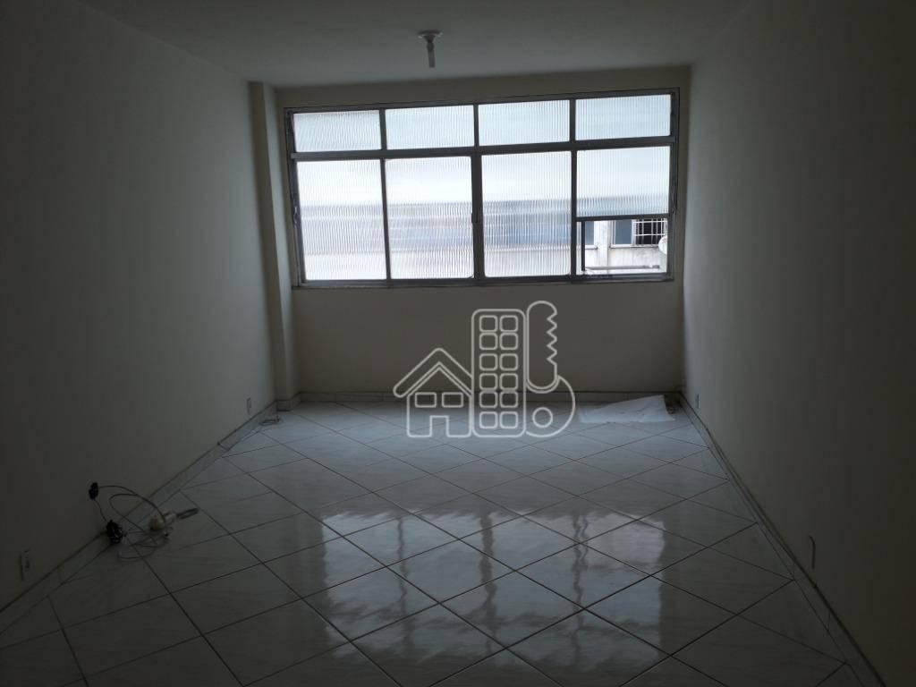 Sala, 32 m² - venda por R$ 120.000,00 ou aluguel por R$ 455,00/mês - Centro - Niterói/RJ