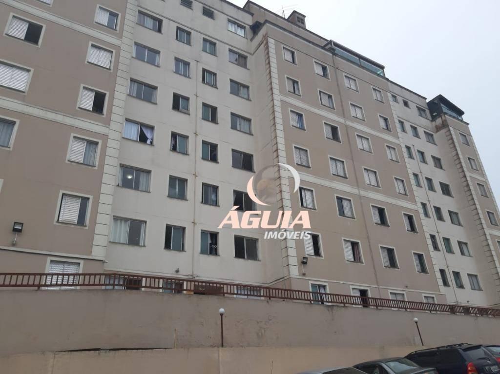 Apartamento com 2 dormitórios à venda, 48 m² por R$ 230.000,00 - Parque São Vicente - Mauá/SP