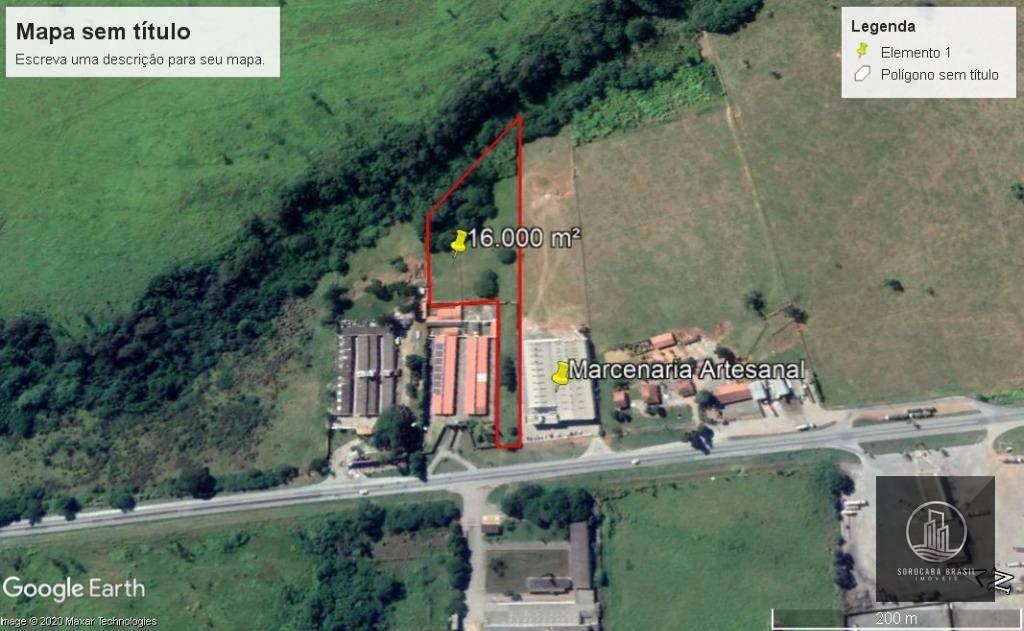 EXCELENTE Área à venda, 16000 m² por R$ 1.280.000 - Vila Amorim - Votorantim/SP.
