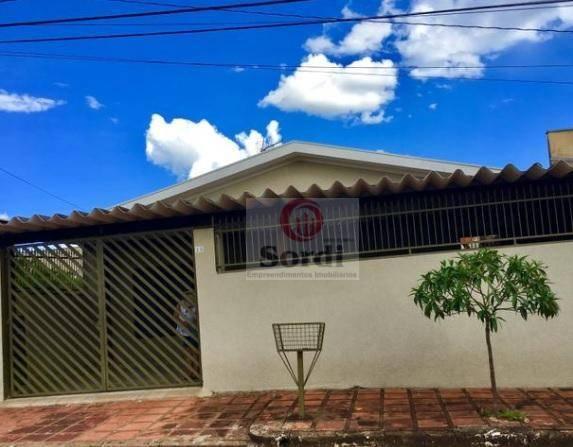 Casa residencial à venda, Independência, Ribeirão Preto.