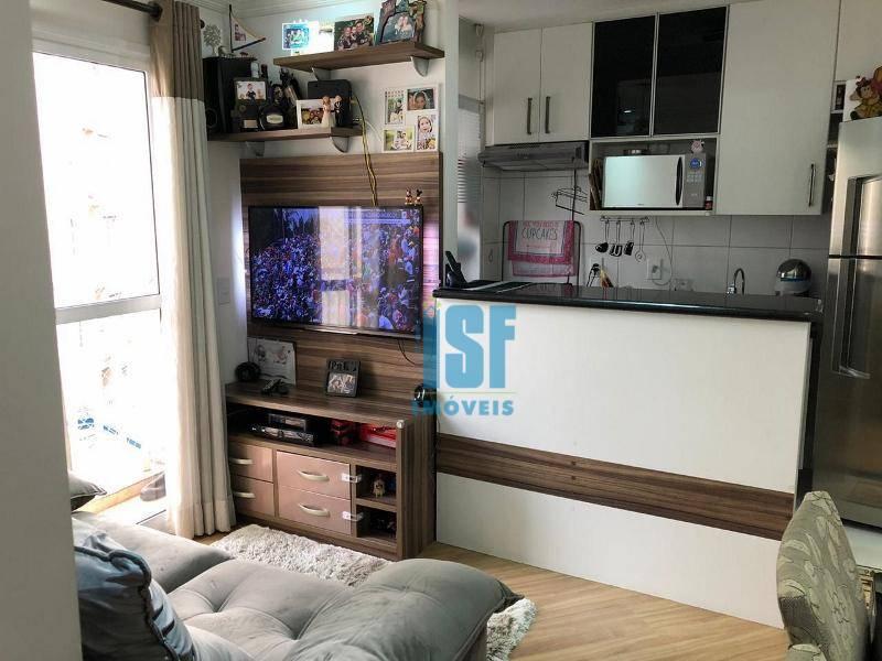 Apartamento com 2 dormitórios à venda, 47 m² por R$ 230.000 - Vila Ercília - Jandira/SP - AP24583.