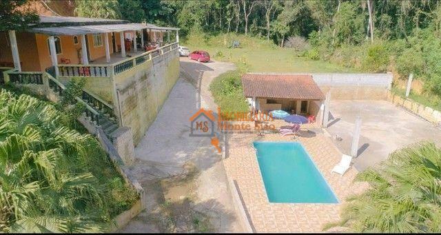 Chácara com 2 dormitórios à venda, 5200 m² por R$ 630.000,00 - Água Azul - Guarulhos/SP