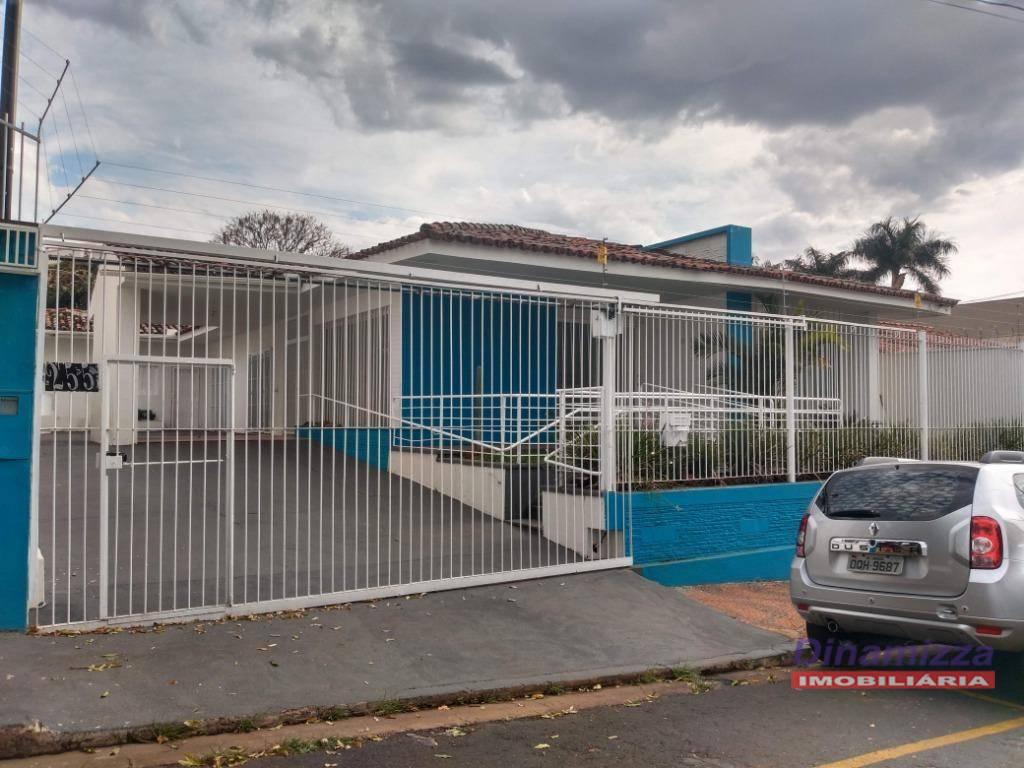 Casa para alugar, 284 m² por R$ 3.000,00/mês - Jardim Alexandre Campos - Uberaba/MG