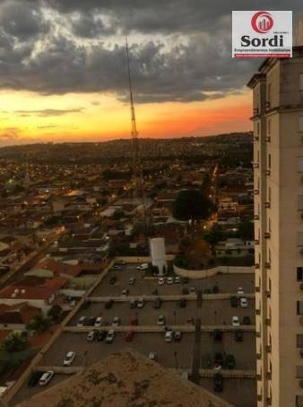 Apartamento com 2 dormitórios à venda, 68 m² por R$ 260.000 - Ipiranga - Ribeirão Preto/SP