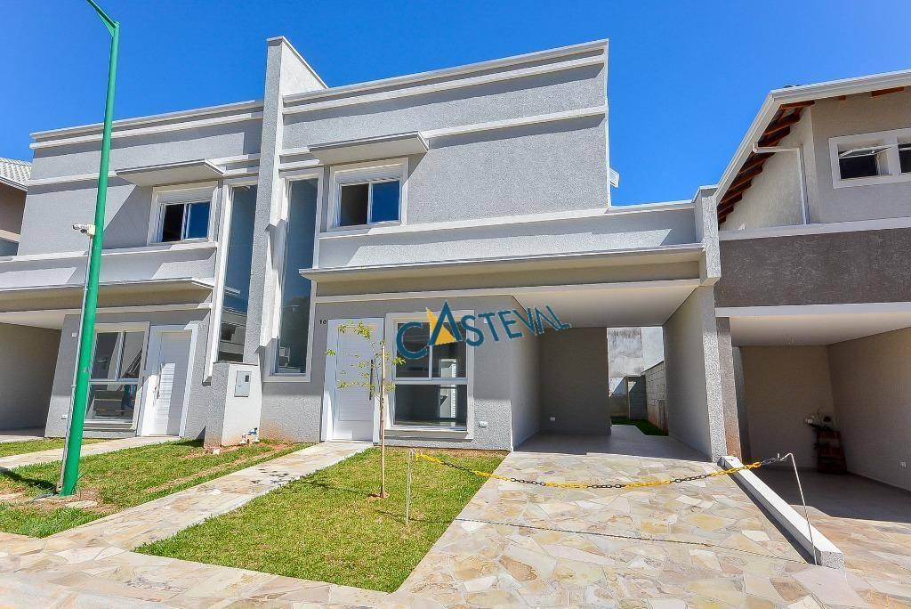 CA0055-CST, Casa de 3 quartos, 125 m² à venda no Campo Comprido - Curitiba/PR