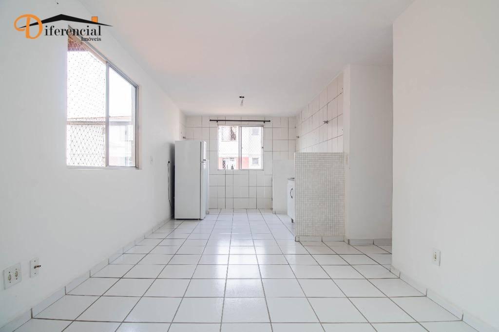 Apartamento com 2 dormitórios à venda, 43 m² por R$ 120.000,00 - Cidade Industrial - Curitiba/PR