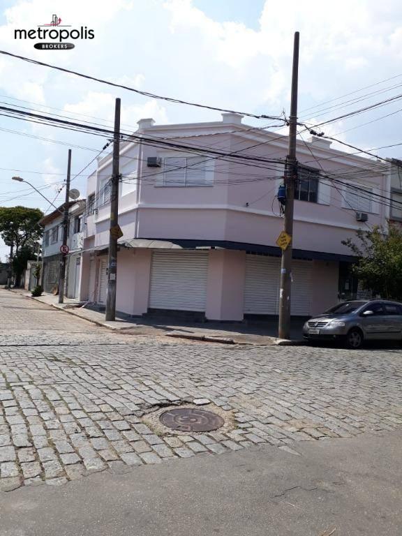 Prédio à venda, 215 m² por R$ 1.200.000 - Utinga - Santo André/SP