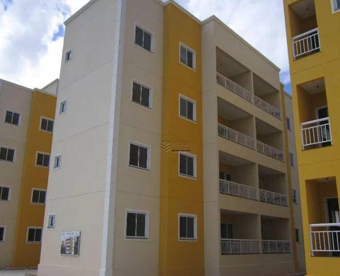 Apartamento com 3 quartos à venda, 75 m² , novo, financia - Mangabeira - Eusébio/CE