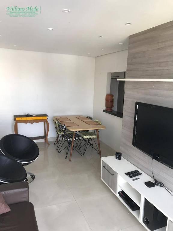 Apartamento com 2 dormitórios à venda, 58 m² por R$ 330.000 - Macedo - Guarulhos/SP