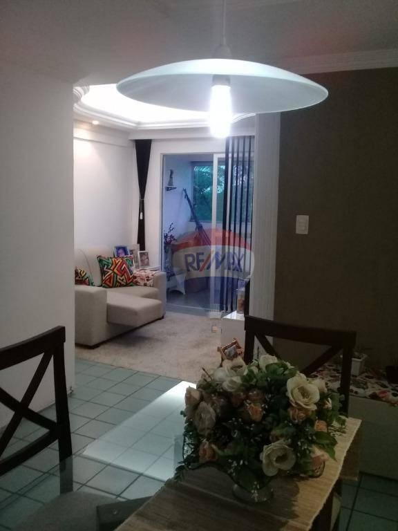Excelente apartamento Mobiliado de 3 quartos em Olinda