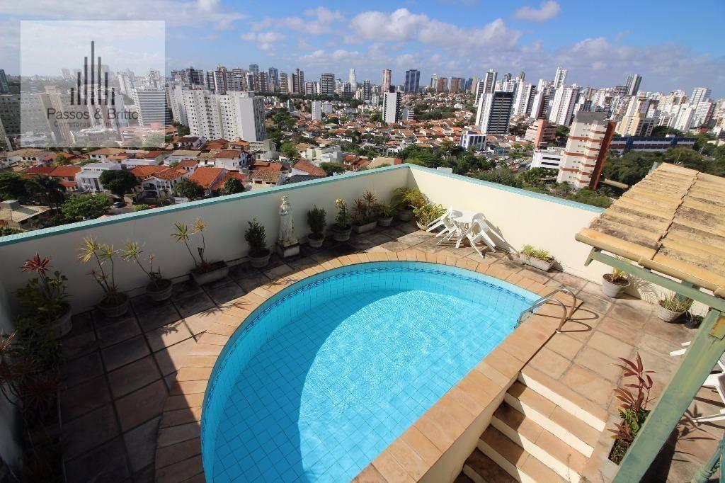Apartamento Duplex com 3 dormitórios à venda, 293 m² por R$ 1.100.000 - Itaigara - Salvador/BA