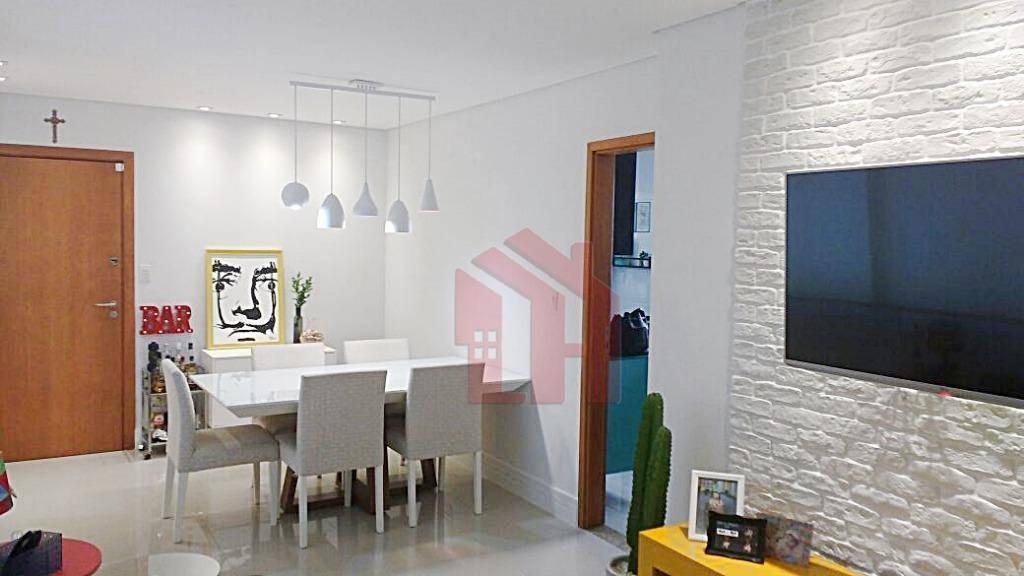Apartamento à venda, 99 m² por R$ 510.000,00 - Macuco - Santos/SP