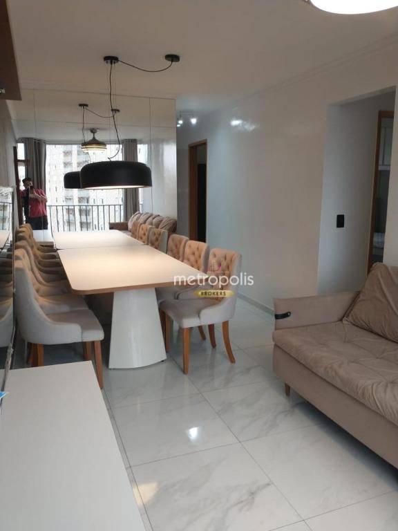 Apartamento com 2 dormitórios à venda, 58 m² por R$ 335.000,00 - Taboão - Diadema/SP