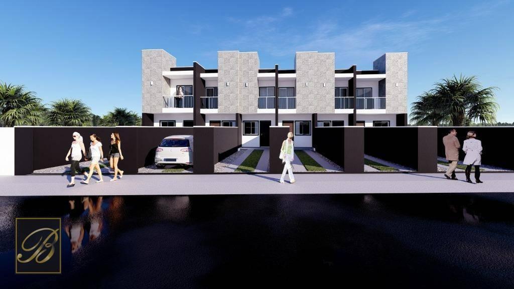 Sobrado com 2 dormitórios à venda, 75 m² por R$ 245.000,00 - Costa e Silva - Joinville/SC