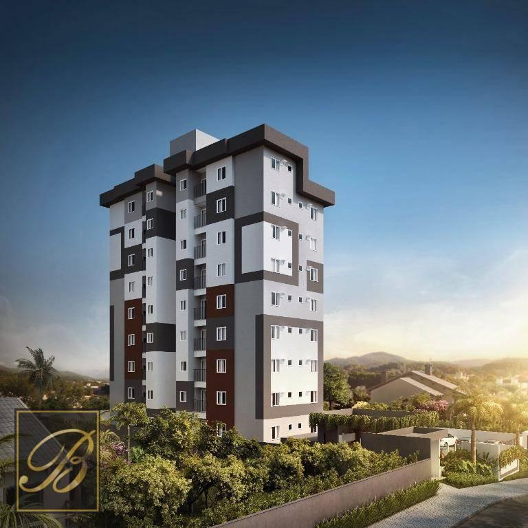 Apartamento com 2 dormitórios à venda, 47 m² por R$ 157.700 - Costa e Silva - Joinville/SC