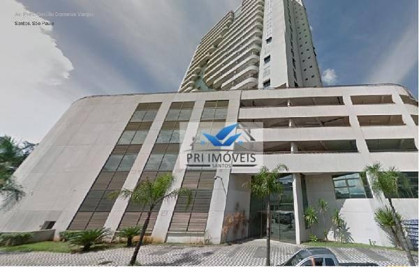 Sala à venda, 43 m² por R$ 153.000 - Valongo - Santos/SP