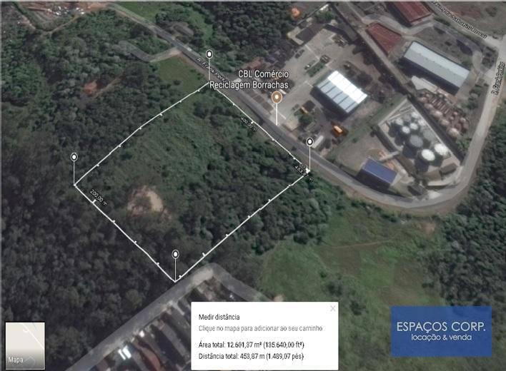 Terreno comercial à venda, 12630m² - Alvarenga - São Bernardo do Campo/SP