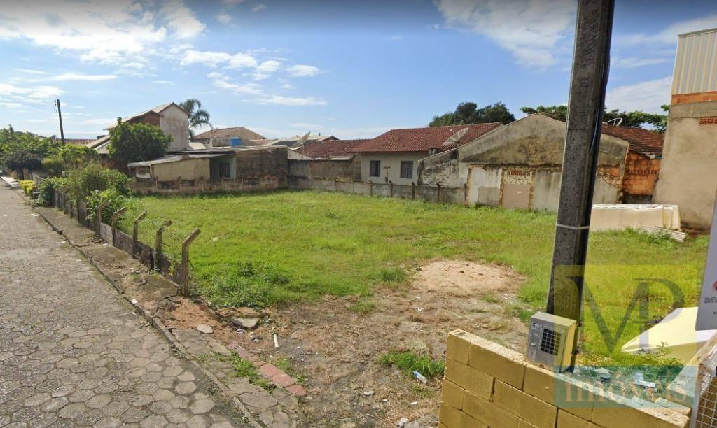 Terreno à venda, 504 m² por R$ 750.000,00 - Centro - Penha/SC