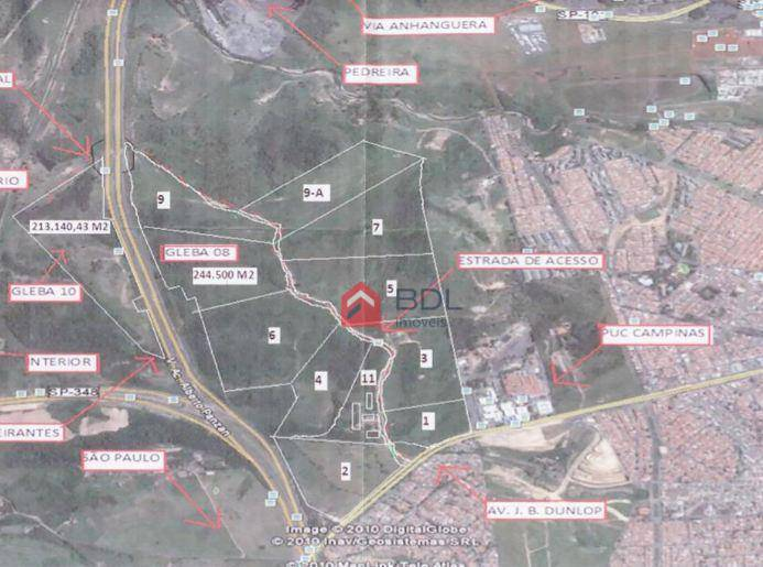 Área rural à venda, Jardim Ipaussurama, Campinas.