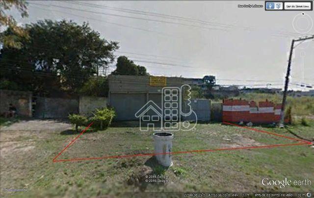 Terreno à venda, 360 m² Venda Das Pedras - Itaboraí/RJ