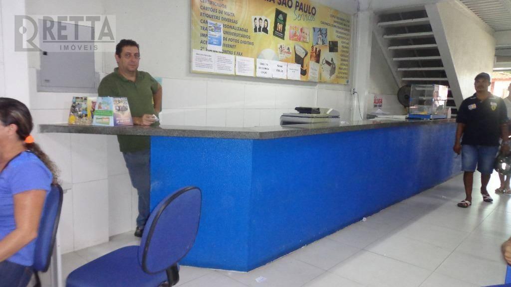 ponto comercial de loja em Messejana