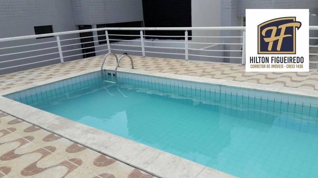 Apartamento com 2 dormitórios à venda, 54 m² por R$ 190.000,00 - Bessa - João Pessoa/PB