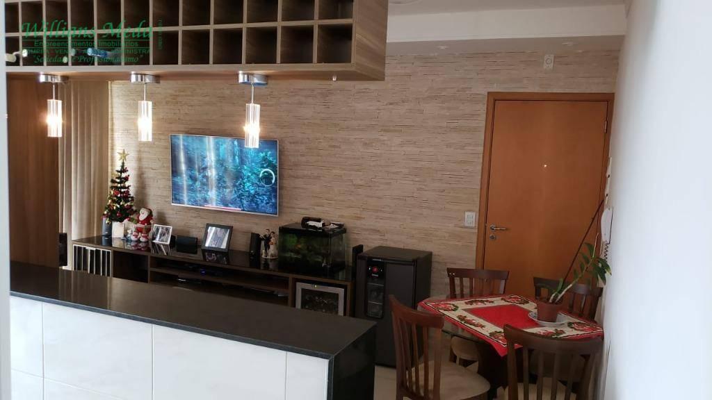 Apartamento com 2 dormitórios à venda, 56 m² por R$ 270.000 - Bom Retiro - Bragança Paulista/SP