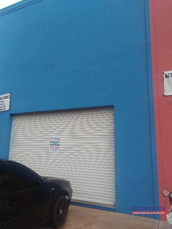 Galpão comercial para locação, Conjunto Manoel Mendes, Uberaba.