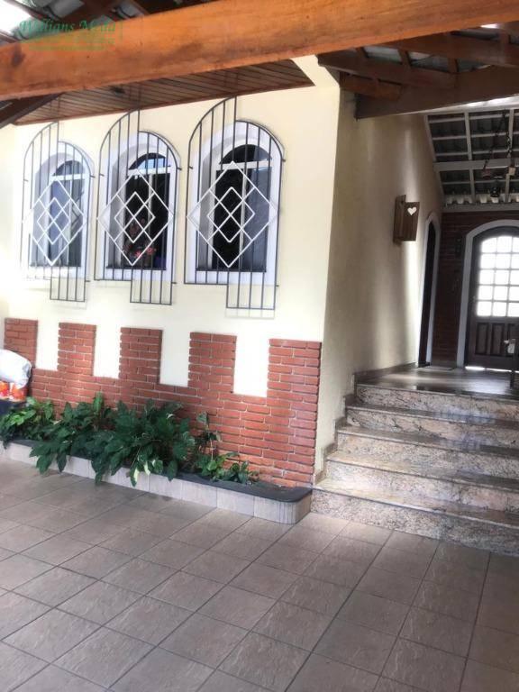 Sobrado residencial à venda, Jardim Leila, Guarulhos.