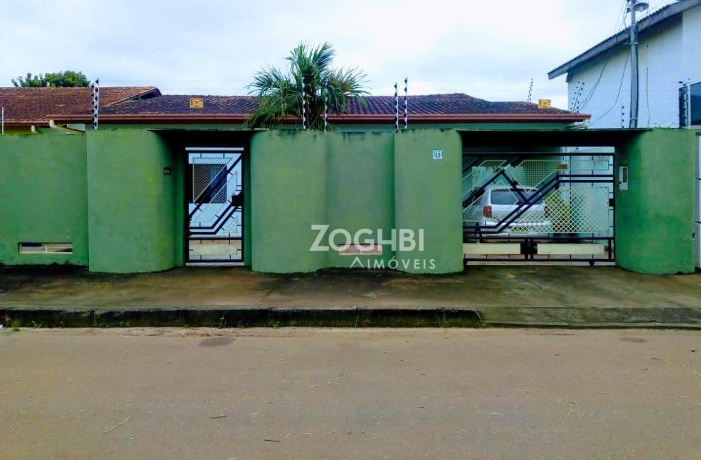 Casa residencial à venda, Agenor de Carvalho, Porto Velho - CA1290.