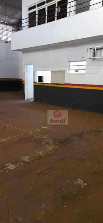 Barracão para alugar, 420 m² por R$ 6.000,00/mês - Campos Elíseos - Ribeirão Preto/SP