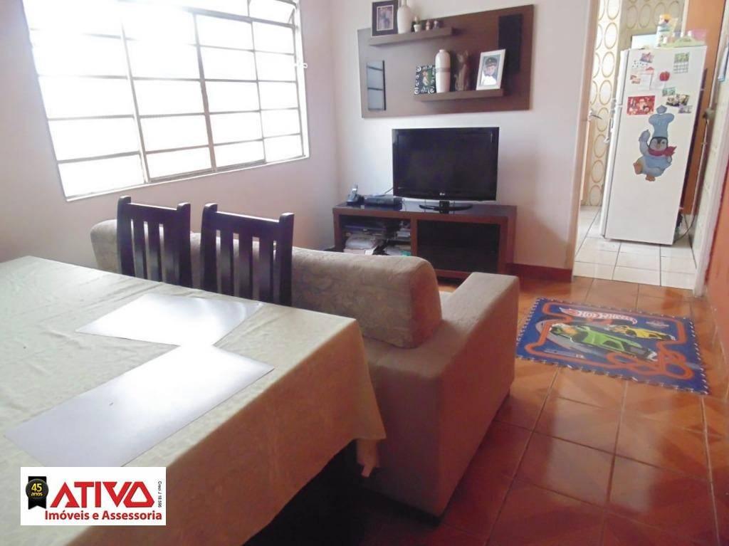 Casa com 2 dormitórios à venda, 138 m² por R$ 320.000 - Alves Dias - São Bernardo do Campo/SP