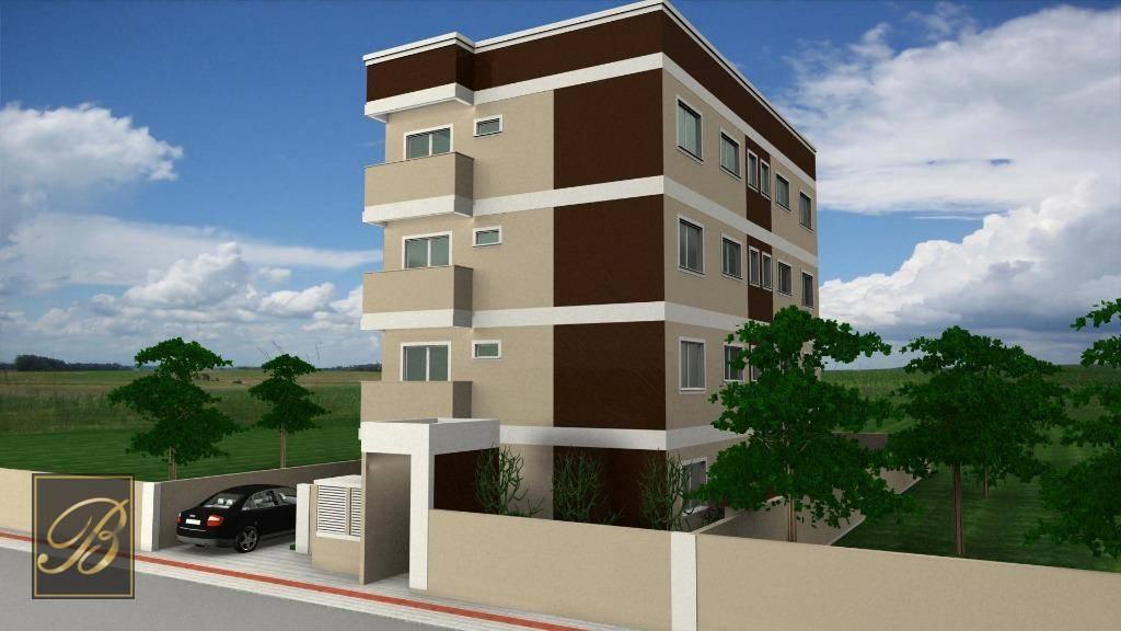 Apartamento com 2 dormitórios à venda, 60 m² por R$ 195.000 - Comasa - Joinville/SC