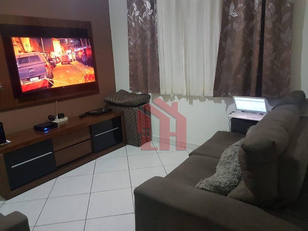 Apartamento com 1 dormitório à venda, 55 m² por R$ 280.000 - Boa Vista - São Vicente/SP