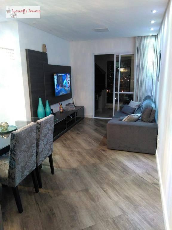 Apartamento com 2 dormitórios à venda, 70 m² - Independência - São Bernardo do Campo/SP