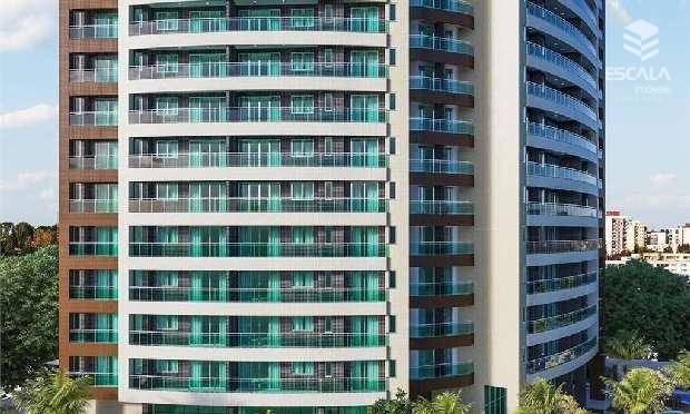 Apartamento com 3 quartos à venda, 123 m², novo, 3 vagas, área de lazer, financia ? Luciano Cavalcante - Fortaleza/CE