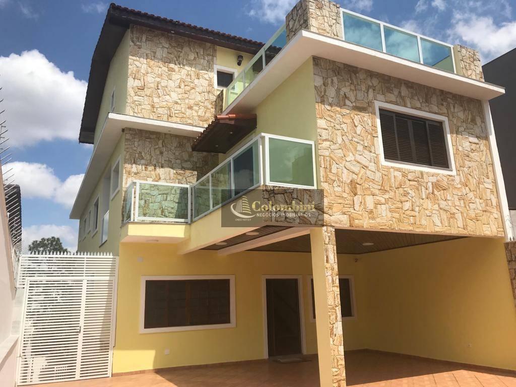 Sobrado com 4 dormitórios à venda, 485 m² - Cerâmica - São Caetano do Sul/SP
