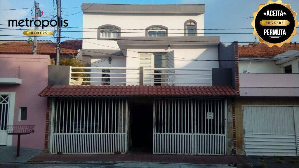 Sobrado residencial à venda, Vila Guiomar, Santo André.
