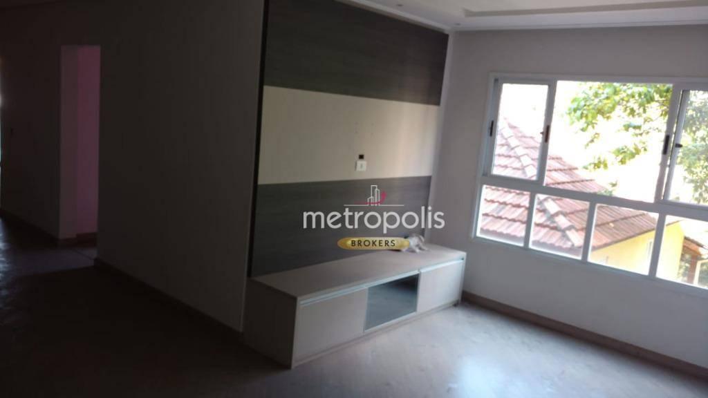Apartamento com 3 dormitórios à venda, 94 m² por R$ 370.000 - Jardim Pilar - Mauá/SP