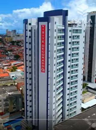 Apartamento com 3 quartos à venda, 90 m², novo, área de lazer, financia - José Bonifácio- Fortaleza/CE