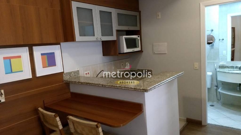 Flat para alugar, 37 m² por R$ 1.700,00/mês - Barcelona - São Caetano do Sul/SP