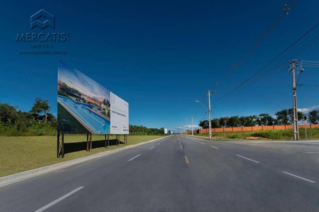 pista acesso | condomínio alpha residencial 2