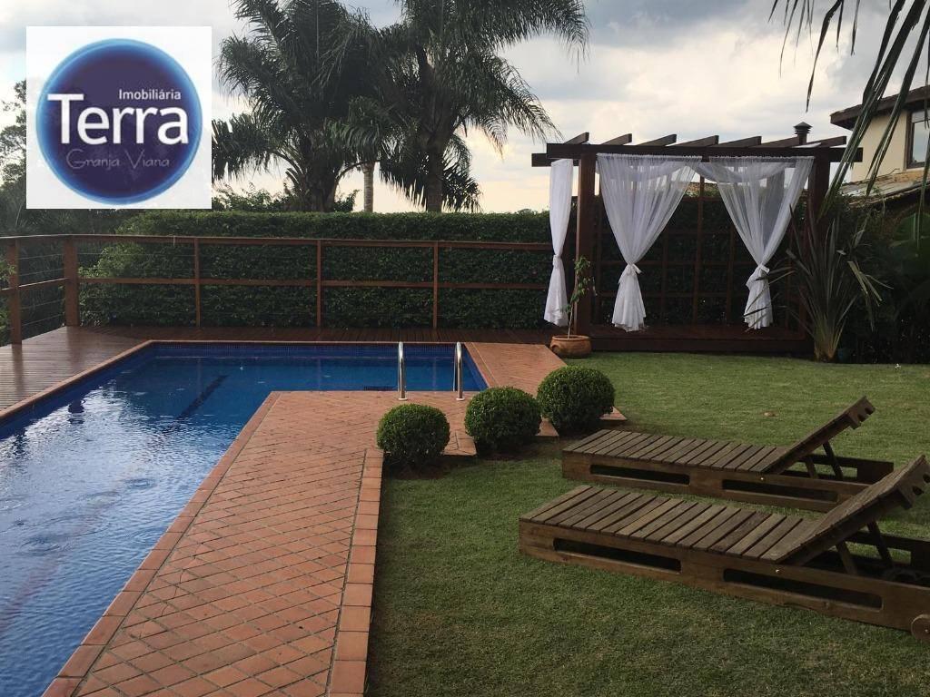 Casa com 4 dormitórios à venda, 500 m² por R$ 1.700.000 - Parque das Artes - Granja viana.
