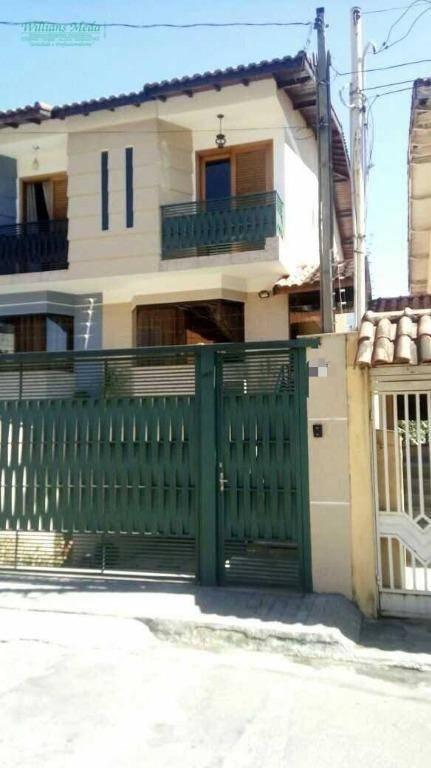 Sobrado à venda, 130 m² por R$ 550.000,00 - Chácara do Vovô - Guarulhos/SP