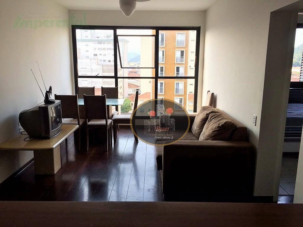 Apartamento com 2 dormitórios à venda, 80 m² por R$ 413.000,00 - Centro - São Vicente/SP