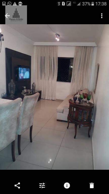 Apartamento com 2 dormitórios à venda, 60 m² por R$ 295.000 - Armação - Salvador/BA