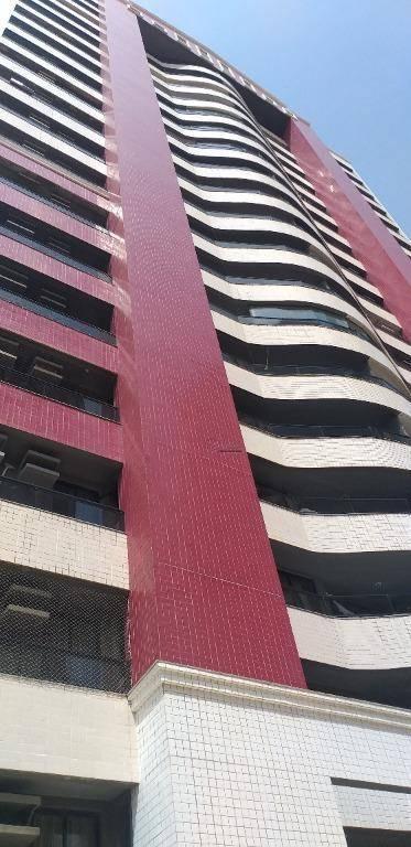 Apartamento com 3 quartos à venda, 131 m², área de lazer,  2 vagas  - Mucuripe - Fortaleza/CE