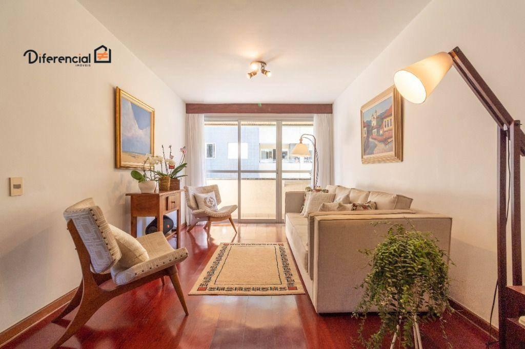 Apartamento com 3 dormitórios à venda, 107 m² por R$ 519.000,00 - Bigorrilho - Curitiba/PR