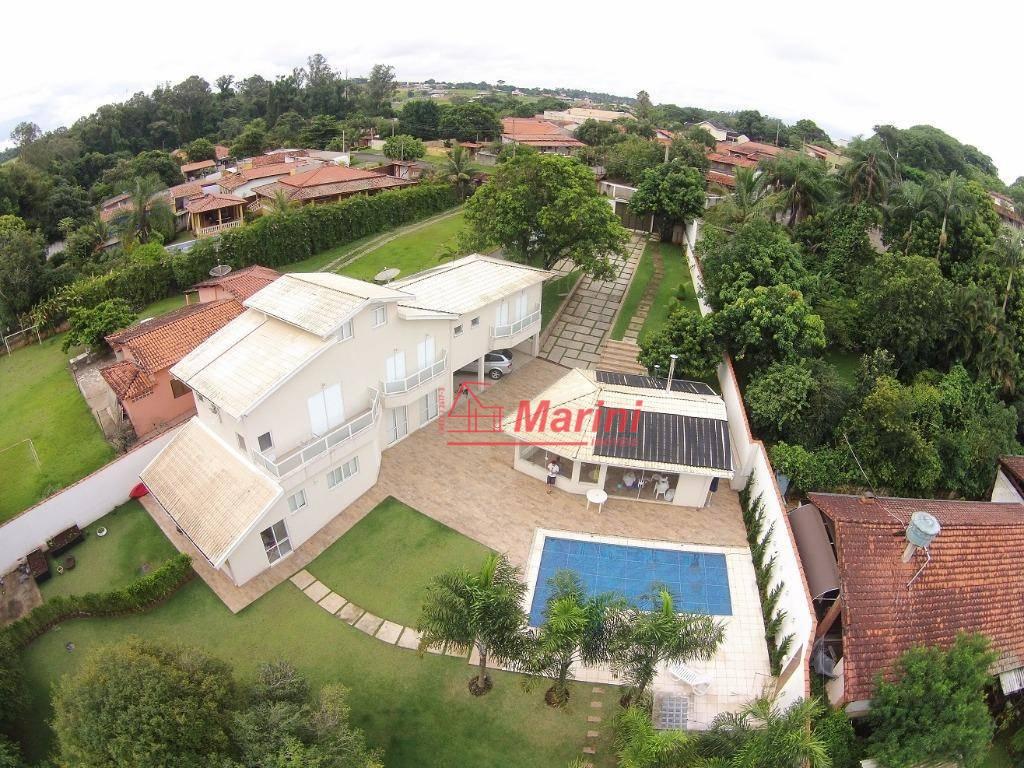 Casa de Alto Padrão Incrível com 5 dormitórios, Espaço Gourmet à venda, 405 m² por R$ 1.360.000 - Condomínio Fechado Village Zuleika Jabour - Salto/SP