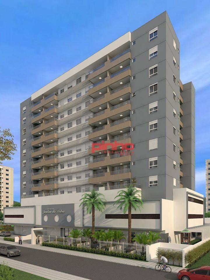 Apartamento com 2 dormitórios à venda, 67 m² por R$ 347.092,87 - Cidade Universitária Pedra Branca - Palhoça/SC